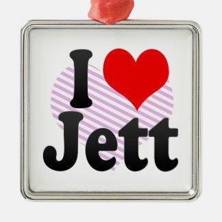I love Jett Christmas Tree Ornament