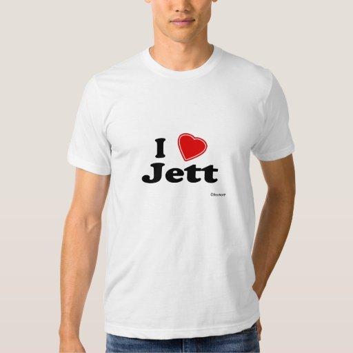 I Love Jett Tee Shirt