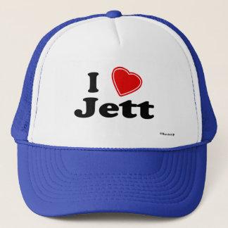 I Love Jett Trucker Hat