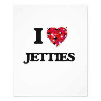 "I Love Jetties 4.5"" X 5.6"" Flyer"
