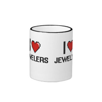 I love Jewelers Ringer Coffee Mug