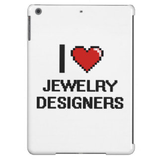 I love Jewelry Designers Case For iPad Air
