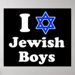 I Love Jewish Boys Posters