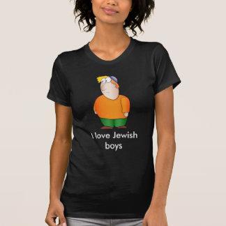 I love Jewish boys T shirt