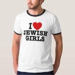 I Love Jewish Girls T-shirts