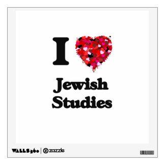 I Love Jewish Studies Wall Graphics