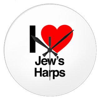 i love jews harps clocks