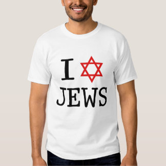 I Love Jews Shirt