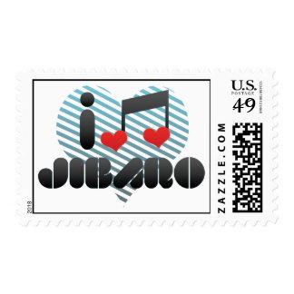 I Love Jibaro Postage