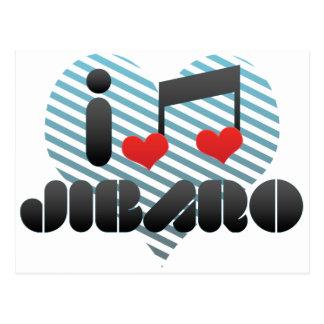 I Love Jibaro Postcard