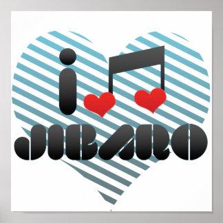 I Love Jibaro Print