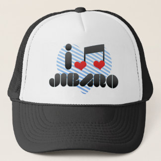 I Love Jibaro Trucker Hat