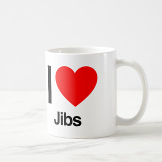 i love jibs coffee mug