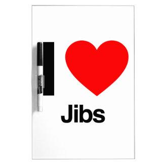i love jibs dry erase whiteboard