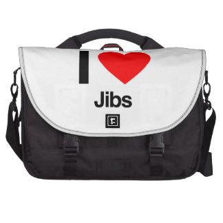 i love jibs laptop computer bag