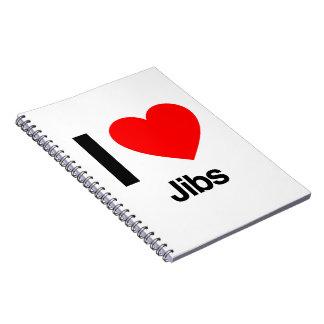 i love jibs notebook