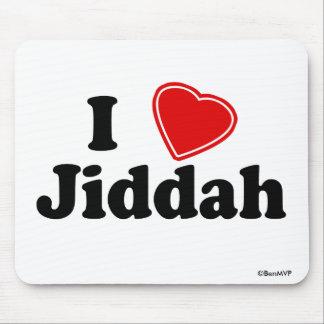 I Love Jiddah Mouse Pad