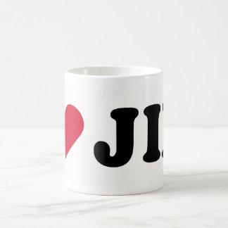 I LOVE JIM COFFEE MUG