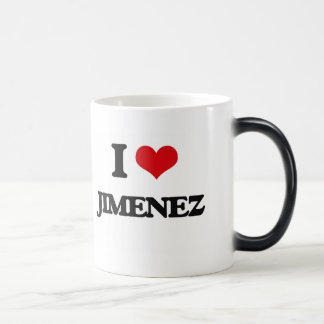 I Love Jimenez 11 Oz Magic Heat Color-Changing Coffee Mug