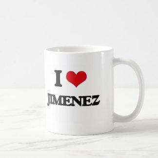 I Love Jimenez Classic White Coffee Mug