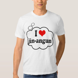 I Love jin-angun, Korea Shirt