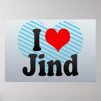 I Love Jind, India. Mera Pyar Jind, India Poster