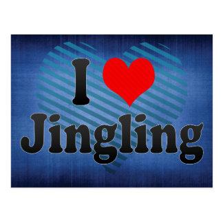 I Love Jingling, China. Wo Ai Jingling, China Postcard