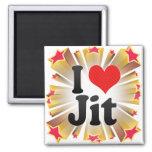 I Love Jit Magnet