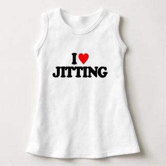 I LOVE JITTING T SHIRT