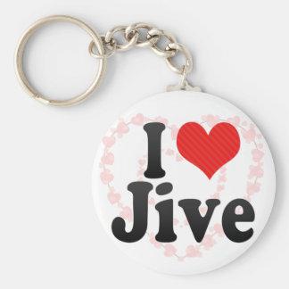 I Love Jive Key Chains