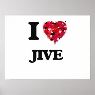 I Love Jive Poster