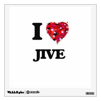 I Love Jive Wall Decor