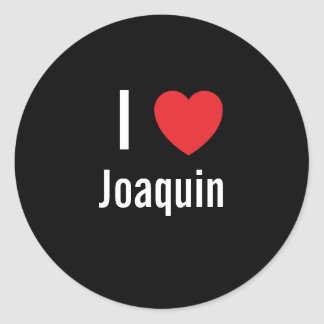 I love Joaquin Sticker