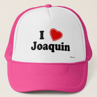 I Love Joaquin Trucker Hat