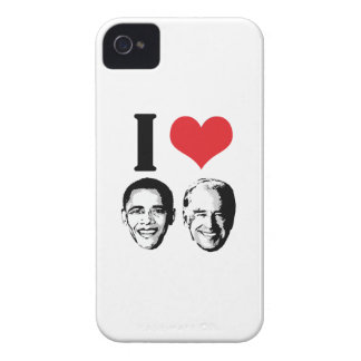 I LOVE JOBAMA RED PLAIN - COPY -.png iPhone 4 Cases