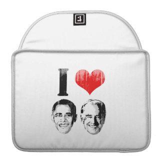 I Love Jobama red plain Vintage.png MacBook Pro Sleeve