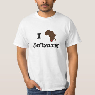 I Love JO'BURG AFRICA T-Shirt