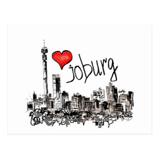 I love Joburg Postcard