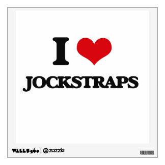 I Love Jockstraps Wall Stickers