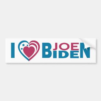 I Love Joe Biden Car Bumper Sticker