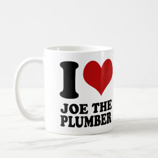 I love Joe the Plumber Mug