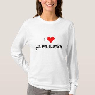 """I Love Joe The Plumber"" T-Shirt"