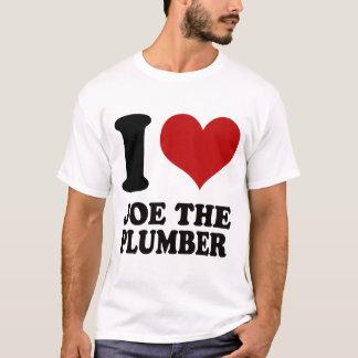 I love Joe the Plumber t shirt