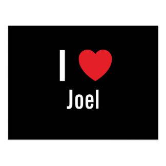I love Joel Postcard
