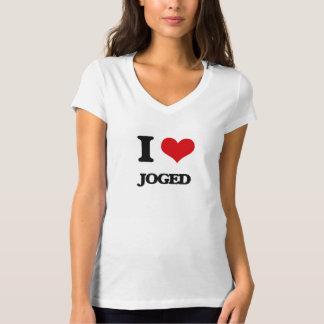 I Love JOGED Tee Shirt