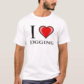 I Love Jogging T-Shirt
