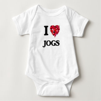 I Love Jogs Infant Creeper