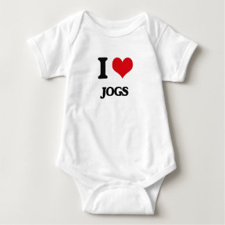 I Love Jogs Shirts