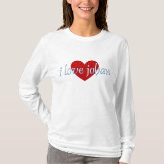 I love johan T-Shirt