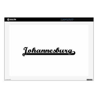 "I love Johannesburg South Africa Classic Design 17"" Laptop Skin"